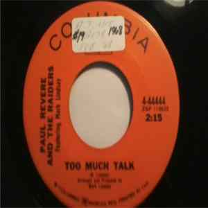 Paul Revere & The Raiders Featuring Mark Lindsay - Too Much Talk FLAC