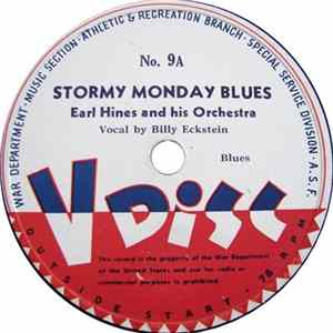 Earl Hines And His Orchestra / Lionel Hampton And His Orchestra - Stormy Monday Blues / On The Sunny Side Of The Street FLAC