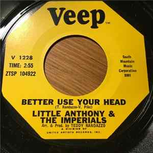 Little Anthony & The Imperials - Better Use Your Head / The Wonder Of It All FLAC